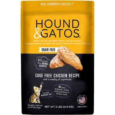 HOUND & GATOS Grain-Free Cage-Free Chicken Recipe Dry Food