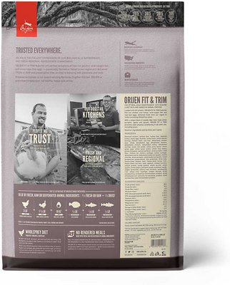 ORIJEN Fit & Trim Dry Cat Food