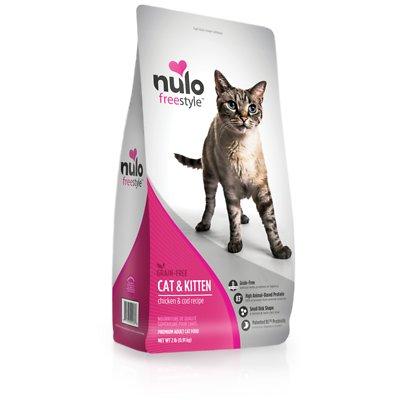 NULO Freestyle Chicken & Cod Grain-Free Dry Cat & Kitten Food