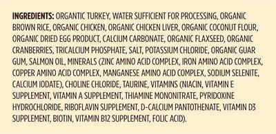 CASTOR & POLLUX Organic Turkey, Brown Rice & Chicken Recipe