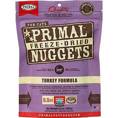 PRIMAL Feline Turkey Formula Freeze-Dried Nuggets