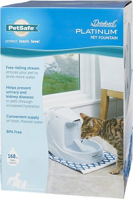 Drinkwell Platinum Plastic Dog & Cat Fountain