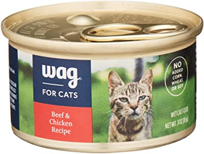 WAG Beef & Chicken Pate Canned Cat Food