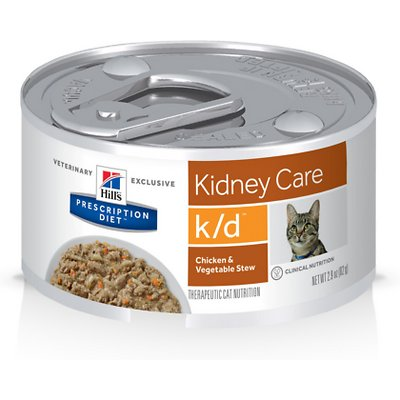 HILL'S PRESCRIPTION DIET k/d Kidney Care Chicken & Vegetable Stew Canned Food