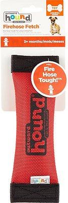 Outward Hound Firehose Squeak N Fetch Dog Toy