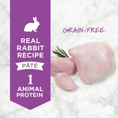 INSTINCT BY NATURE'S VARIETY  Limited Ingredient Diet Grain-Free Real Rabbit Recipe Canned Food