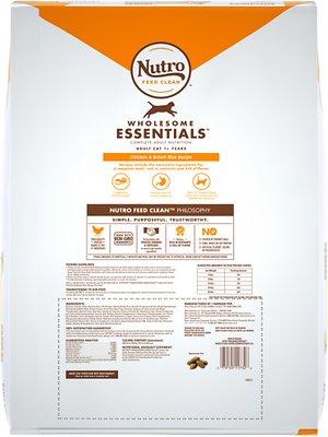 NUTRO Wholesome Essentials Indoor Chicken & Brown Rice Recipe Adult Dry Food
