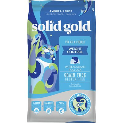 SOLID GOLD Fit as a Fiddle Weight Control with Alaskan Pollock