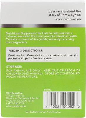 Tomlyn Pre & Probiotic Water Soluble Powder Cat Supplement