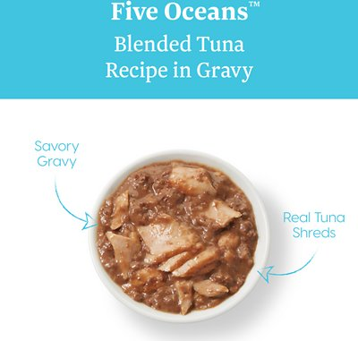SOLID GOLD Five Oceans Blended Tuna Recipe in Gravy