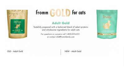 FROMM Family Gold Adult Recipe Dry Cat Food