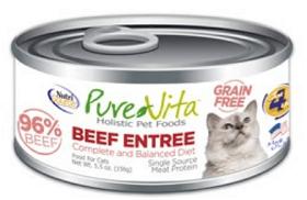 PUREVITA Grain-Free Beef Entrée