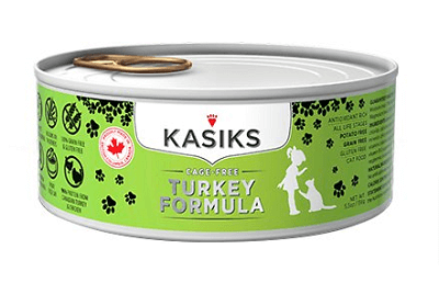 KASIKS Cage-Free Turkey Formula for Cats