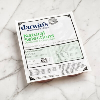 DARWIN'S Natural Selections Chicken Recipe Raw Cat Food