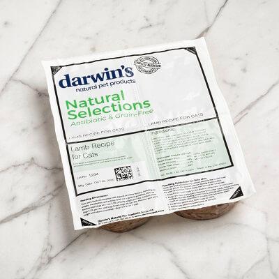 DARWIN'S Natural Selections Lamb Recipe Raw Cat Food