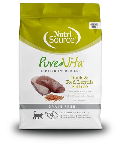 PUREVITA Grain-Free Duck & Red Lentils Entrée