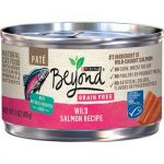 Purina Beyond Grain-Free Wild Salmon Pate Recipe Canned Cat Food
