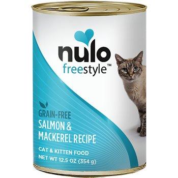 Nulo Freestyle Salmon & Mackerel Recipe Grain-Free Canned Cat & Kitten Food